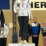 Meike Lammes goud districtfinale 4e divisie